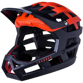 Kali Invader SLD Helm, matt red/black